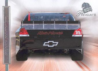 2011 Press Pass Premium #70 Kevin Harvick's Car DP