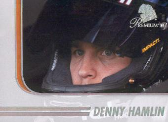 2011 Press Pass Premium #78 Denny Hamlin PP
