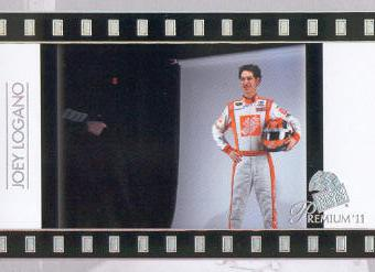 2011 Press Pass Premium #90 Joey Logano SI