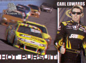 2011 Press Pass Premium Hot Pursuit 3D #HP5 Carl Edwards