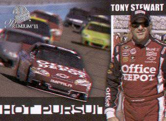 2011 Press Pass Premium Hot Pursuit 3D #HP8 Tony Stewart