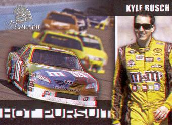 2011 Press Pass Premium Hot Pursuit 3D #HP10 Kyle Busch