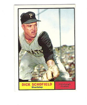 1961 Topps #453 Dick Schofield