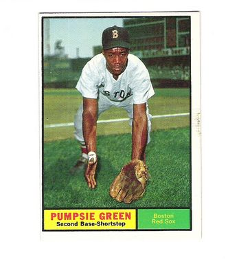 1961 Topps #454 Pumpsie Green front image