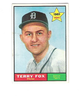 1961 Topps #459 Terry Fox RC front image