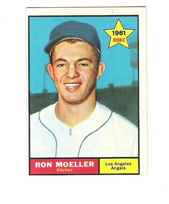 1961 Topps #466 Ron Moeller RC front image
