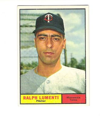 1961 Topps #469 Ralph Lumenti