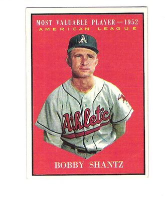 1961 Topps #473 Bob Shantz MVP