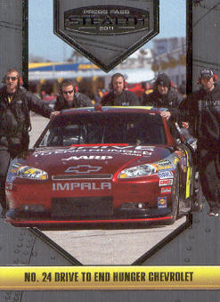 2011 Press Pass Stealth #5 Jeff Gordon's Car