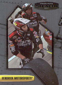 2011 Press Pass Stealth #6 Jeff Gordon's Crew