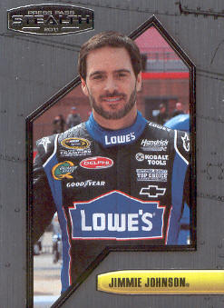 2011 Press Pass Stealth #7 Jimmie Johnson