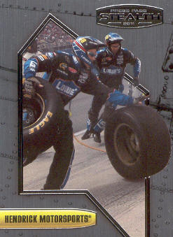 2011 Press Pass Stealth #9 Jimmie Johnson's Crew