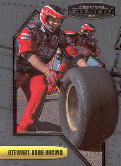 2011 Press Pass Stealth #12 Tony Stewart's Crew