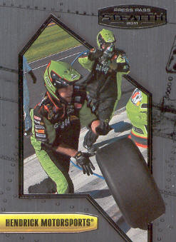 2011 Press Pass Stealth #15 Mark Martin's Crew