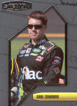2011 Press Pass Stealth #25 Carl Edwards