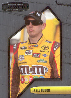 2011 Press Pass Stealth #28 Kyle Busch