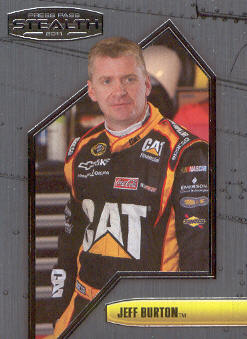 2011 Press Pass Stealth #31 Jeff Burton