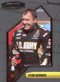 2011 Press Pass Stealth #34 Ryan Newman