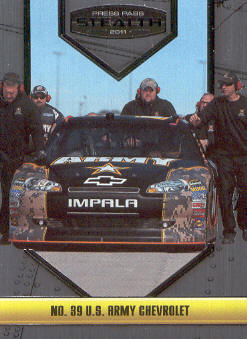 2011 Press Pass Stealth #35 Ryan Newman's Car