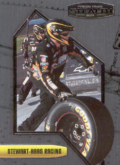 2011 Press Pass Stealth #36 Ryan Newman's Crew