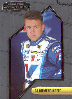2011 Press Pass Stealth #37 A.J. Allmendinger