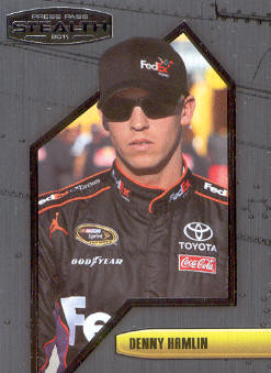 2011 Press Pass Stealth #43 Denny Hamlin