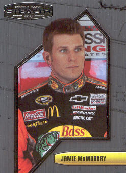 2011 Press Pass Stealth #48 Jamie McMurray