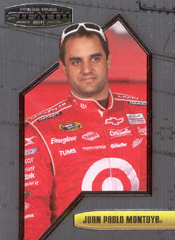 2011 Press Pass Stealth #50 Juan Pablo Montoya