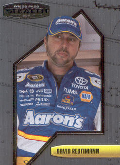 2011 Press Pass Stealth #52 David Reutimann