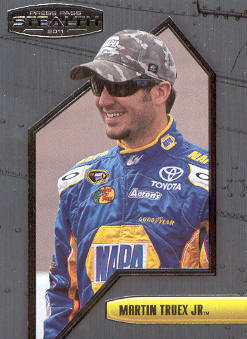 2011 Press Pass Stealth #53 Martin Truex Jr.