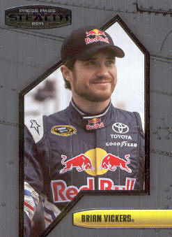 2011 Press Pass Stealth #54 Brian Vickers