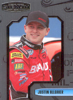 2011 Press Pass Stealth #55 Justin Allgaier NNS