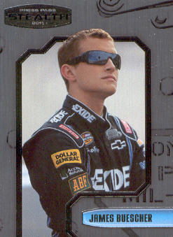 2011 Press Pass Stealth #58 James Buescher NNS