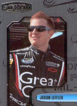 2011 Press Pass Stealth #59 Jason Leffler NNS