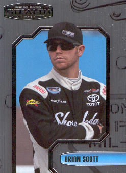 2011 Press Pass Stealth #62 Brian Scott NNS