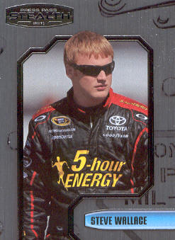2011 Press Pass Stealth #68 Steve Wallace NNS