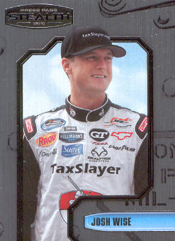 2011 Press Pass Stealth #69 Josh Wise NNS