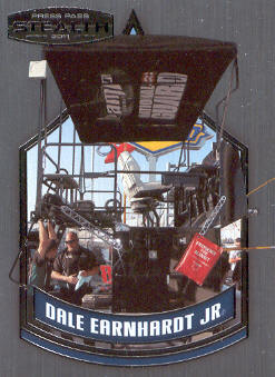 2011 Press Pass Stealth #70 Dale Earnhardt Jr.'s Pit Box CC