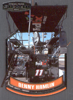 2011 Press Pass Stealth #77 Denny Hamlin's Pit Box CC