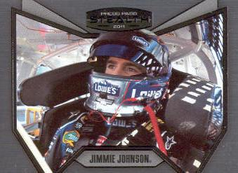 2011 Press Pass Stealth #82 Jimmie Johnson C