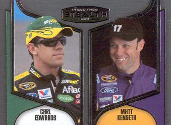 2011 Press Pass Stealth #91 Carl Edwards/Matt Kenseth