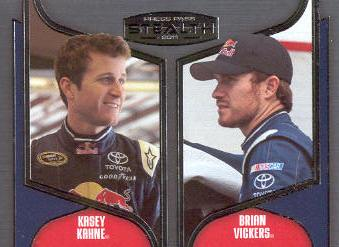2011 Press Pass Stealth #92 Kasey Kahne/Brian Vickers