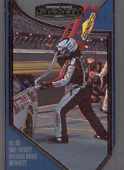 2011 Press Pass Stealth #93 Dale Earnhardt Jr.'s Crew