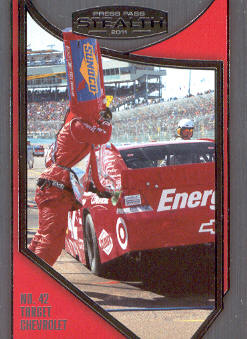 2011 Press Pass Stealth #95 Juan Pablo Montoya's Crew