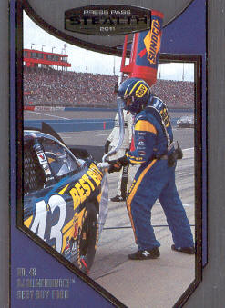 2011 Press Pass Stealth #96 A.J. Allmendinger's Crew