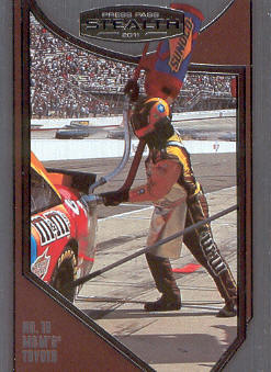 2011 Press Pass Stealth #98 Kyle Busch's Crew