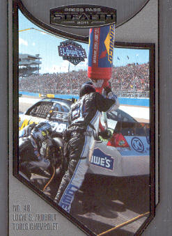 2011 Press Pass Stealth #99 Jimmie Johnson's Crew