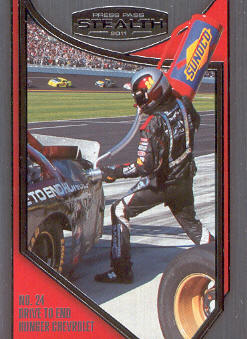 2011 Press Pass Stealth #100 Jeff Gordon's Crew