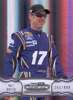 2011 Press Pass Showcase #16 Matt Kenseth