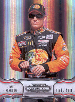 2011 Press Pass Showcase #21 Jamie McMurray